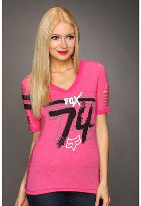 Fox Competitive Football Tee (Fuchsia) - Apparel