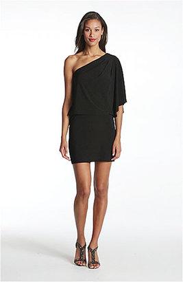 Jessica Simpson One-Shoulder Jersey Minidress