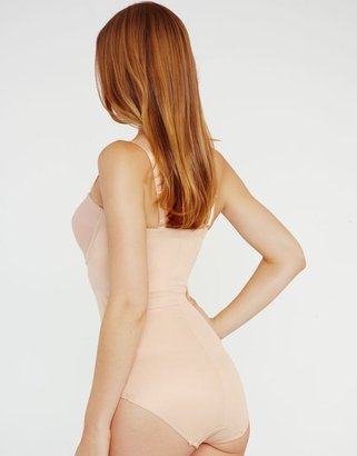 Miraclesuit Shapewear Rigid Front Extra Firming Strapless Body Look 10lbs Lighter In 10 Seconds