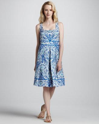 Tory Burch Ramona Floral-Print Dress