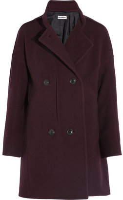 Jil Sander Palau double-breasted wool coat
