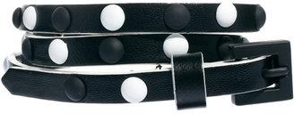 Asos Monochrome Stud Skinny Waist Belt