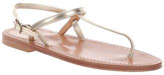 K. Jacques 'Valerie Platine' sandal