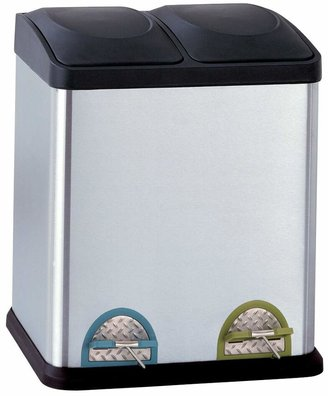 Neu Home 30-liter Step Recycle Bin & Trash Can