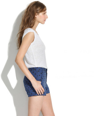 Madewell Tailored Shorts in Artdot