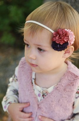 Plh Bows & Laces Floral Headband