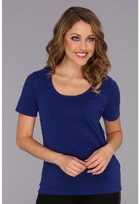 Jones New York S/S Scoop Neck Pullover 10453505 Women's Short Sleeve Pullover