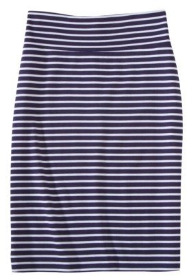 Mossimo Women's Plus-Size Ponte Stripe Skirt - Assorted Colors