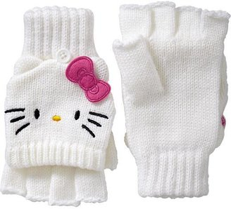 Hello Kitty Girls Convertible Mittens