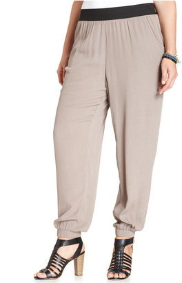 American Rag Plus Size Pull-On Soft Pants