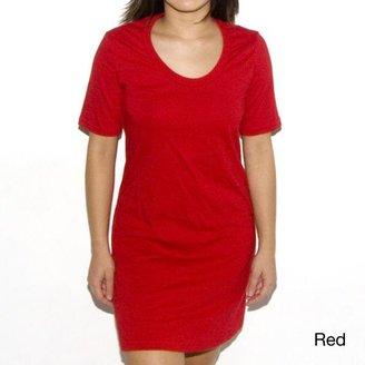 American Apparel Women's Jersey Cotton T-shirt Dress $17.99 thestylecure.com