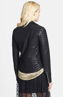Blank NYC BLANKNYC Quilted Faux Leather Jacket