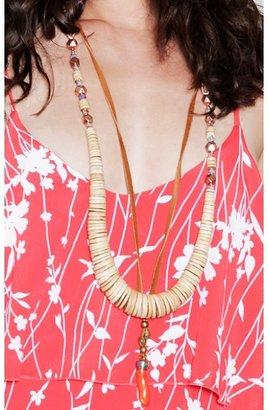 Vanessa Mooney Rodeo Coconut Statement Necklace