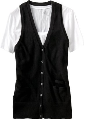 Old Navy Women's Button-Front Sweater Vests