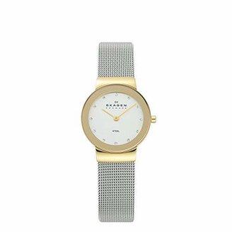 Skagen Women's White Label Analog-Quartz Watch with Stainless-Steel Strap