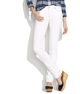 Madewell Rail straight jeans in white wash