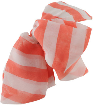 Forever 21 Striped Bow Headwrap