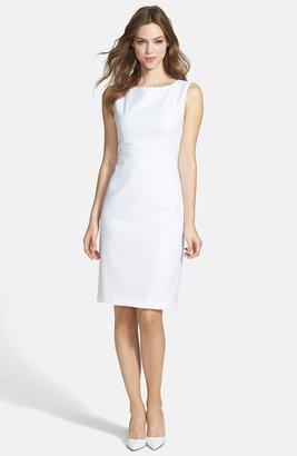 T Tahari 'Myra' Peplum Sheath Dress
