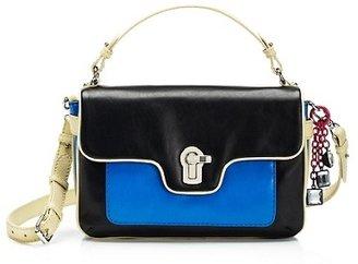 Juicy Couture Color Block Maude Leather Shoulder Bag