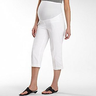 JCPenney duoTM Maternity Career Capris, Sateen