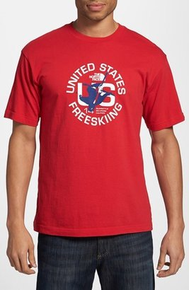 The North Face 'United States Freeskiing - International Collection' Screenprint T-Shirt