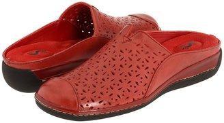 SoftWalk San Marcos (Dark Red Leather) - Footwear