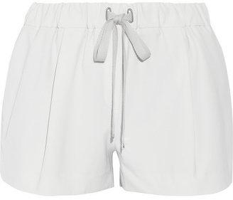 Elizabeth and James Darnell stretch-twill shorts