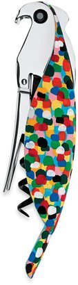 Alessi Parrot Sommelier-Style Corkscrew in Multi-Color
