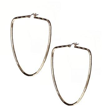 Asos Scoop Hoop Earrings - Gold