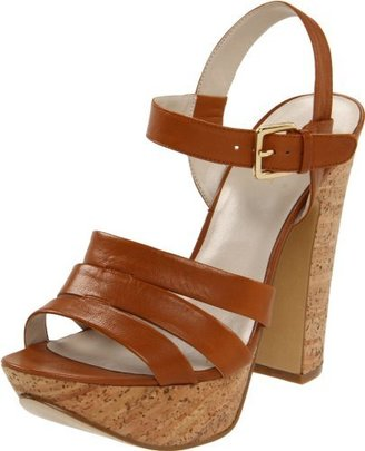 Nine West Women's Intuitive Ankle-Strap Chunky Sandal