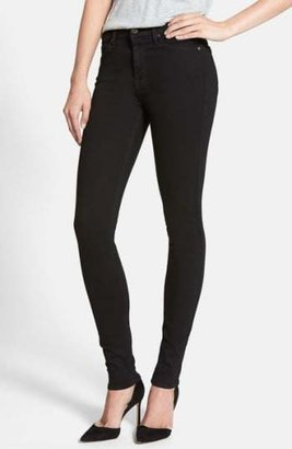 7 For All Mankind(R) 'Slim Illusion Luxe' High Waist Skinny Jeans