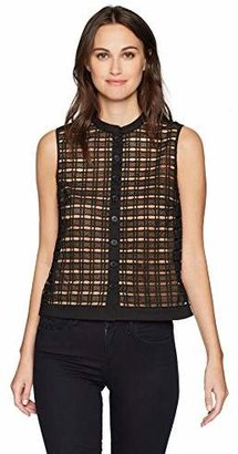 Tracy Reese Women's Sleeveless Shirt