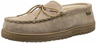 Old Friend Men's Cloth Lined Moccasin Slipper