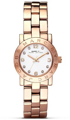 MARC BY MARC JACOBS Mini Amy Rose Gold Watch, 26mm $200 thestylecure.com