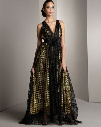 Marc Bouwer Glamit! Lace Gown