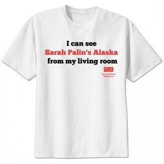 Sarah Palin's Alaska Living Room T-Shirt - White