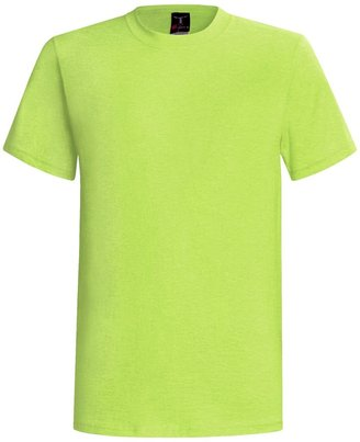 Hanes 60/40 Blend Short Sleeve Beefy-t By For Men and Women)