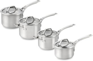 Calphalon AccuCoreTM Stainless Steel 3-Quart Covered Sauce Pan