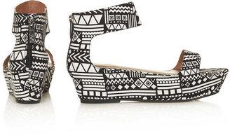 Matiko 2 Part Flatform Sandals