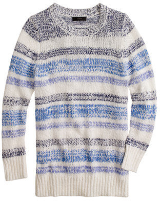 J.Crew Twisted stripe sweater