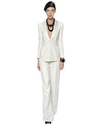 Giorgio Armani Tuxedo Silk Cady Suit