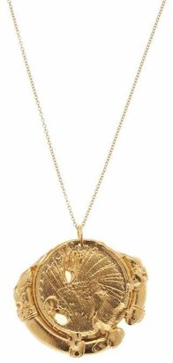 Alighieri Gold-Plated The Old Time'S Sake Chaper Ii Necklace