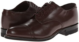 Stacy Adams Madison Cap Toe Oxford (Brown) Men's Shoes