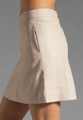 Marc by Marc Jacobs Jett Leather Skirt