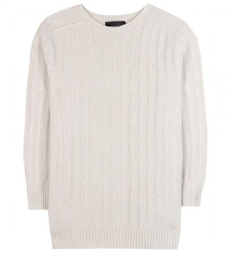The Row Elise cashmere and silk-blend sweater