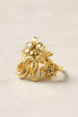 Alex Monroe Elapid Bloom Ring