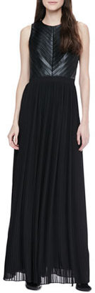 Cynthia Steffe Florence Pleated Maxi Dress