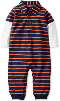 Carter's Baby Coverall, Baby Boys Polo Coverall