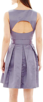 Jump Apparel Blu Sage Sleeveless Belted Fit-and-Flare Dress $69.99 thestylecure.com