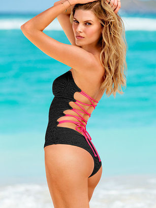 Beach Sexy Lace-up One-Piece